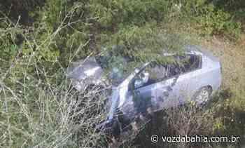 Delegado de Brumado fica ferido após acidente na BA-262 - Voz da Bahia