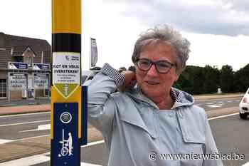 Met ellebogenwerk raak je niet over kruispunt (Tielt-Winge) - Het Nieuwsblad