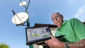 Chemnitz: Rentner versorgt Dorf mit Internet und TV - RTL Online