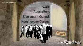 """In Weiden gestaltete digitale Ausstellung """"Voilà! Corona-Kunst."""" ist jetzt im Internet zu sehen - Onetz.de"""
