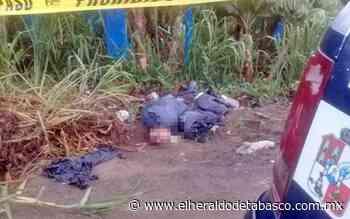 Descuartizado y embolsado encuentran cuerpo en Teapa - El Heraldo de Tabasco