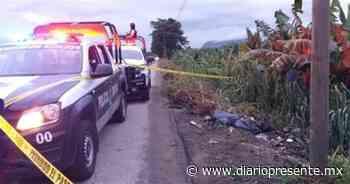 Tiran a sujeto mutilado en carretera de Teapa - Diario Presente