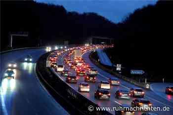 A45 bei Schwerte: Heute morgen nur ein Fahrstreifen / Staus erwartet - Ruhr Nachrichten