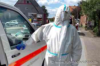 Rotes Kreuz aus Schwerte hilft bei Corona-Massentests in Gütersloh - Ruhr Nachrichten