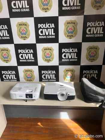 Suspeito de furtar escola estadual em Carmo do Cajuru é preso pela Polícia Civil - G1