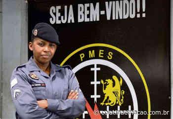 Natural de Baixo Guandu, a Sargento Do Carmo deseja conhecer o policial que a fez escolher a profissão - Colatina em Ação