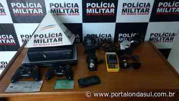 Quatro pessoas são presas em operações policiais na cidade de Carmo do Rio Claro - Portal Onda Sul