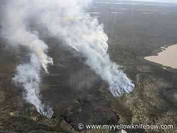Update: Inuvik wildfire now over 300 hectares in size - My Yellowknife Now