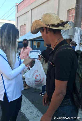 """""""Fiscais do Bem"""" orientam população e comerciantes em Pindamonhangaba - Vale News"""
