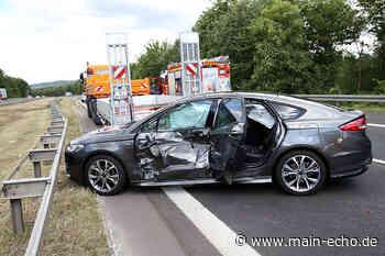 Unfall auf A45 bei Kleinostheim sorgt für Behinderungen - Main-Echo