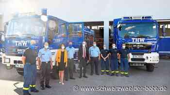 Schramberg: THW technisch und fachlich gerüstet - Schramberg - Schwarzwälder Bote