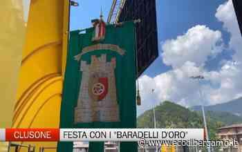 Clusone, la festa del ringraziamento con i Baradelli d'oro - L'Eco di Bergamo