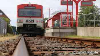 Bauarbeiten: Keine AKN-Züge nachts zwischen Elmshorn und Sparrieshoop   shz.de - shz.de