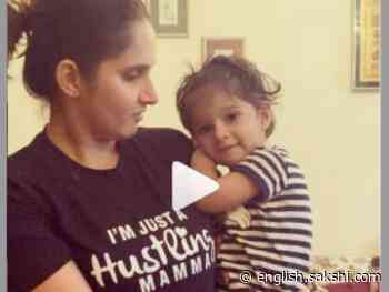 See What Sania Mirza's Son Says About Shoaib Malik - Sakshi English