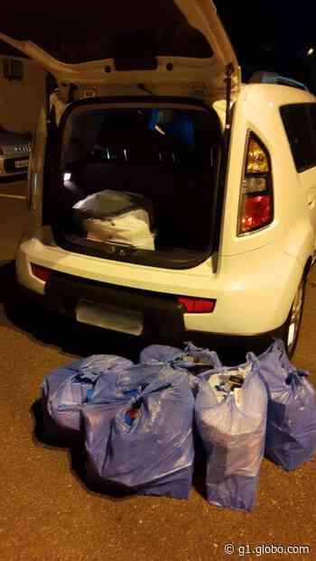 Policial civil é preso com contrabando na Rodovia Castello Branco em Itu - G1
