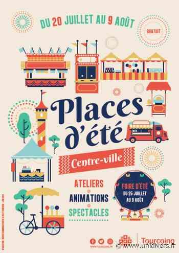 Places d'été Hôtel de Ville lundi 20 juillet 2020 - Unidivers