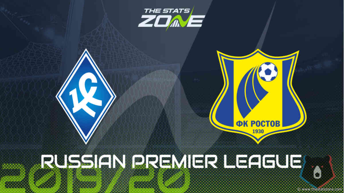 2019-20 Russian Premier League – Krylya Sovetov vs Rostov Preview & Prediction - The Stats Zone