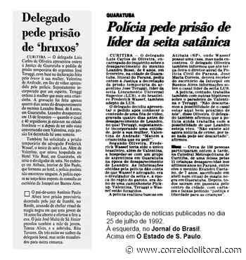 Prisão de Queiroz cria fake news envolvendo Guaratuba - Correio do Litoral