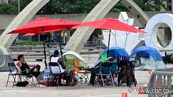 City issues trespass order against anti-racism demonstrators at Nathan Phillips Square
