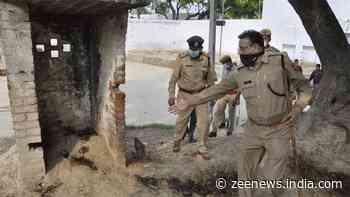 Chaubepur SO Vinay Tiwari, suspect in Kanpur encounter, suspended; gangster Vikas Dubey`s house razed