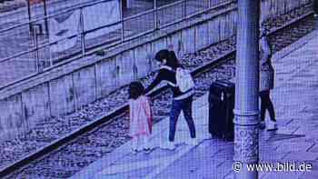 Bonn: Mädchen zieht kleine Schwester von Bahnsteigkante - BILD
