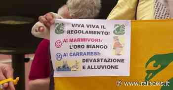 A Carrara ambientalisti contro il nuovo regolamento degli agri marmiferi - TGR Toscana - TGR – Rai