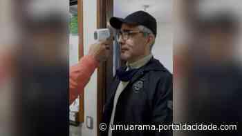 Quem procurar a Delegacia da Polícia Civil de Umuarama terá temperatura medida - ® Portal da Cidade | Umuarama