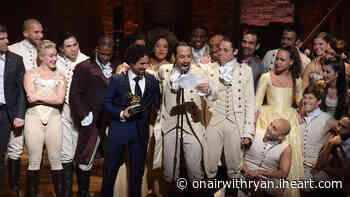 Hamilton's Choreographer on What Characters' Movement Means | On Air with Ryan Seacrest | Ryan Seacrest - iHeartRadio