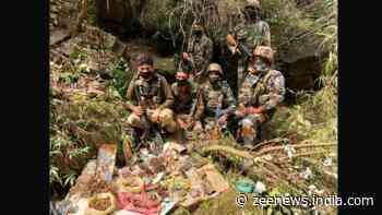 Terrorist killed during gunbattle in Jammu and Kashmir`s Kulgam; arms, ammunition seized in Rajouri