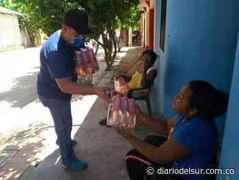 Ejército entregó ocho mil litros de agua en el municipio de Arenal, Sur de Bolívar - Diario del Sur