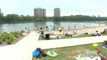 Verdun beach opens for the season with strict COVID-19 restrictions | Watch News Videos Online - Globalnews.ca