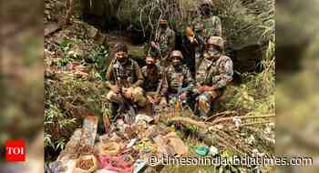 Terrorist hideout busted in Jammu and Kashmir's Rajouri