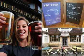 Oxford's pubs and restaurants ready to reopen
