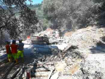 Frana a Santa Brigida, si riparte dopo il Covid - Qui News Chianti