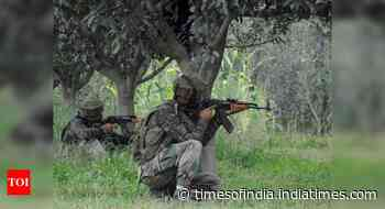 Encounter breaks out between security forces and terrorists in J&K's Kulgam