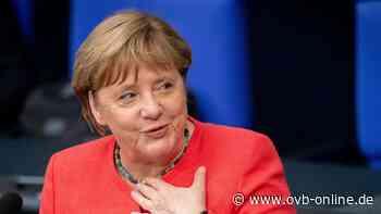 Bundeskanzlerin Angela Merkel am 14. Juli auf Schloss Herrenchiemsee - Oberbayerisches Volksblatt