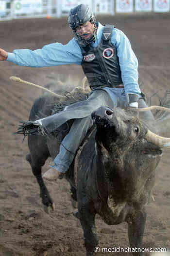 Maple Creek bull rider looking forward to return - Medicine Hat News