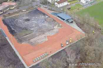 In Stockheim entsteht der erste Bio-Kunstrasenplatz Bayerns - inFranken.de