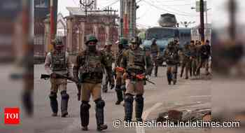 Terrorist killed in encounter with security forces in Jammu and Kashmir's Kulgam