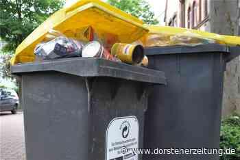 Gelbe Tonnen: Keine Nachverhandlung über Vier-Wochen-Rhythmus - Dorstener Zeitung