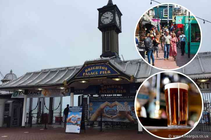 Brighton and Hove businesses reopen after lockdown