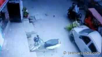 Drunk Delhi cop mows down elderly women in Chilla village, incident captured on CCTV