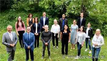 Landrat Achim Hallerbach begrüßt Verwaltungsnachwuchs - Blick aktuell