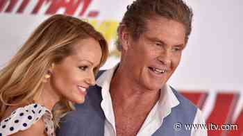 The Hoff's wife pays tribute to former colleagues at closed Debenhams store | ITV News - ITV News