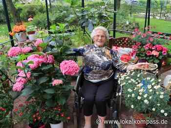 Irmgard Zysk findet ihr Glück im Gewächshaus: Die Sprache der Blumen - Lokalkompass.de