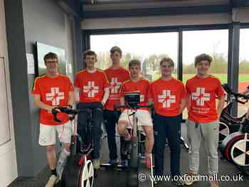 Radley College pupils in cycling challenge for air ambulance