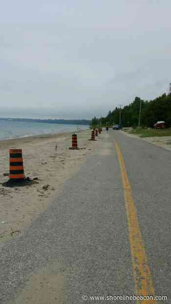 Mother Nature prompts traffic and parking changes in Saugeen Shores - Shoreline Beacon