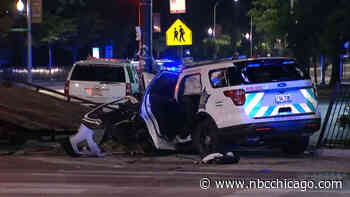 2 Chicago Police Officers Injured in Crash in Humboldt Park