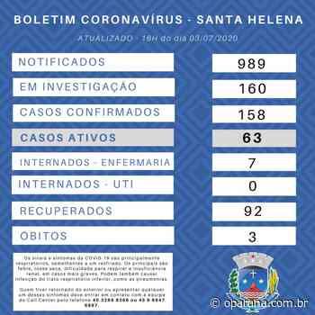 Santa Helena confirma dez casos de covid-19 nas últimas 24 horas - O Paraná