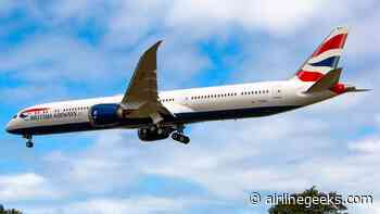 British Airways Takes Delivery of First 787-10 - AirlineGeeks.com